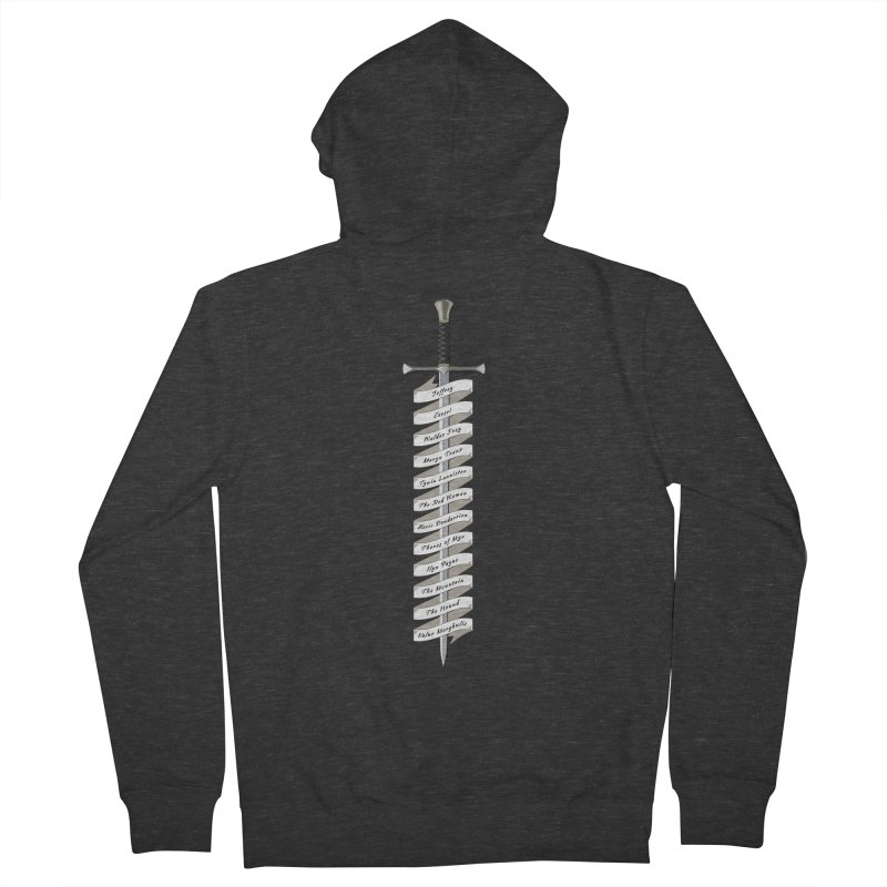 Kill List Men's French Terry Zip-Up Hoody by Geeky Nerfherder's Artist Shop