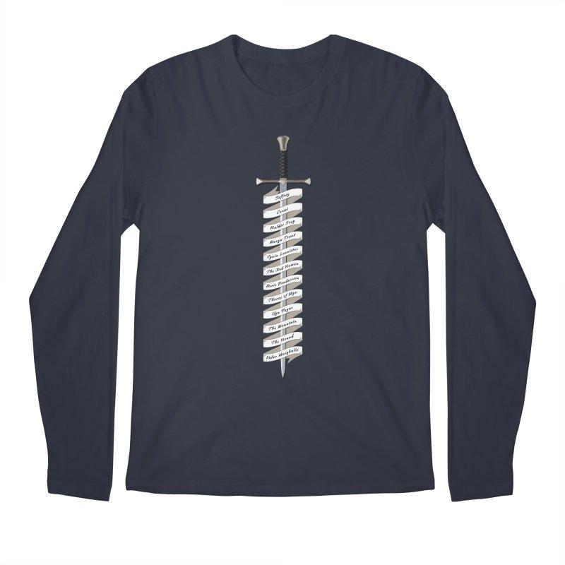 Kill List Men's Regular Longsleeve T-Shirt by Geeky Nerfherder's Artist Shop