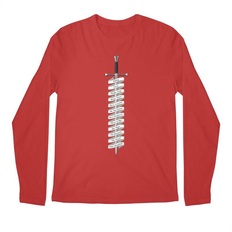 Kill List Men's Longsleeve T-Shirt by Geeky Nerfherder's Artist Shop