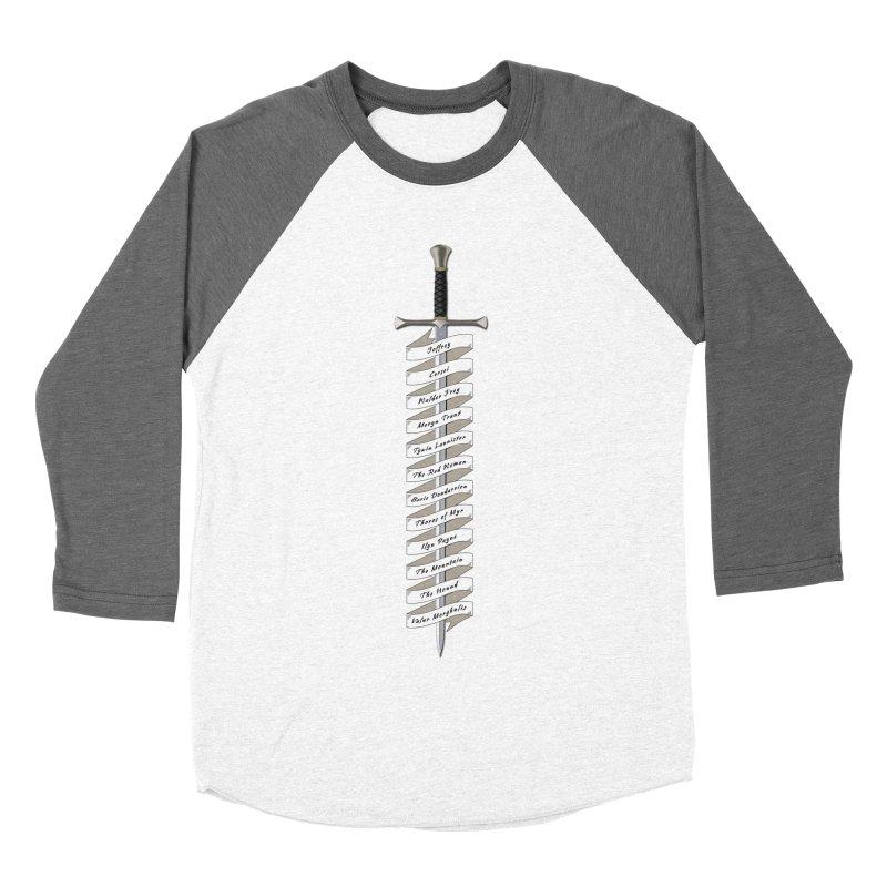 Kill List Men's Baseball Triblend Longsleeve T-Shirt by Geeky Nerfherder's Artist Shop