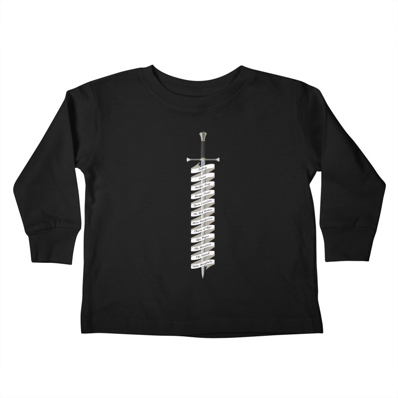 Kill List Kids Toddler Longsleeve T-Shirt by Geeky Nerfherder's Artist Shop