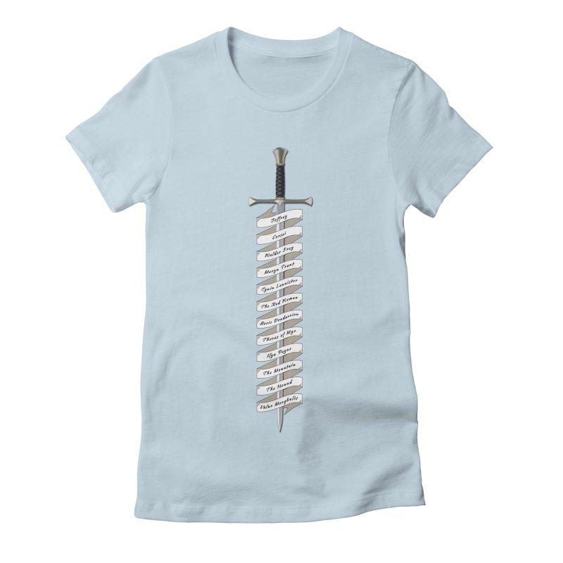 Kill List Women's Fitted T-Shirt by Geeky Nerfherder's Artist Shop