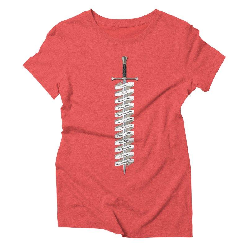 Kill List Women's Triblend T-Shirt by Geeky Nerfherder's Artist Shop