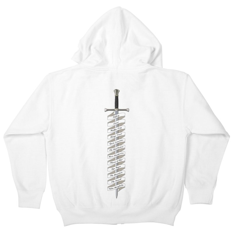 Kill List Kids Zip-Up Hoody by Geeky Nerfherder's Artist Shop