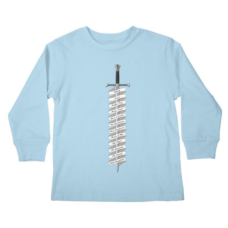 Kill List Kids Longsleeve T-Shirt by Geeky Nerfherder's Artist Shop