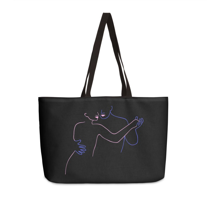 Dance With Me Accessories Weekender Bag Bag by gelso's Artist Shop