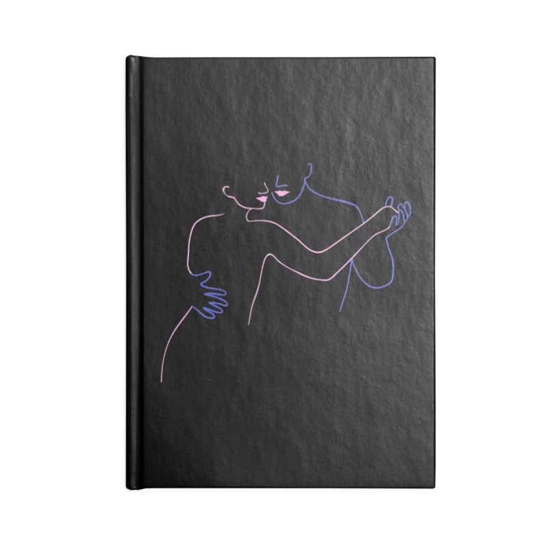 Dance With Me Accessories Blank Journal Notebook by gelso's Artist Shop