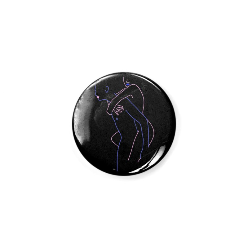 Hold Me Now Accessories Button by gelso's Artist Shop