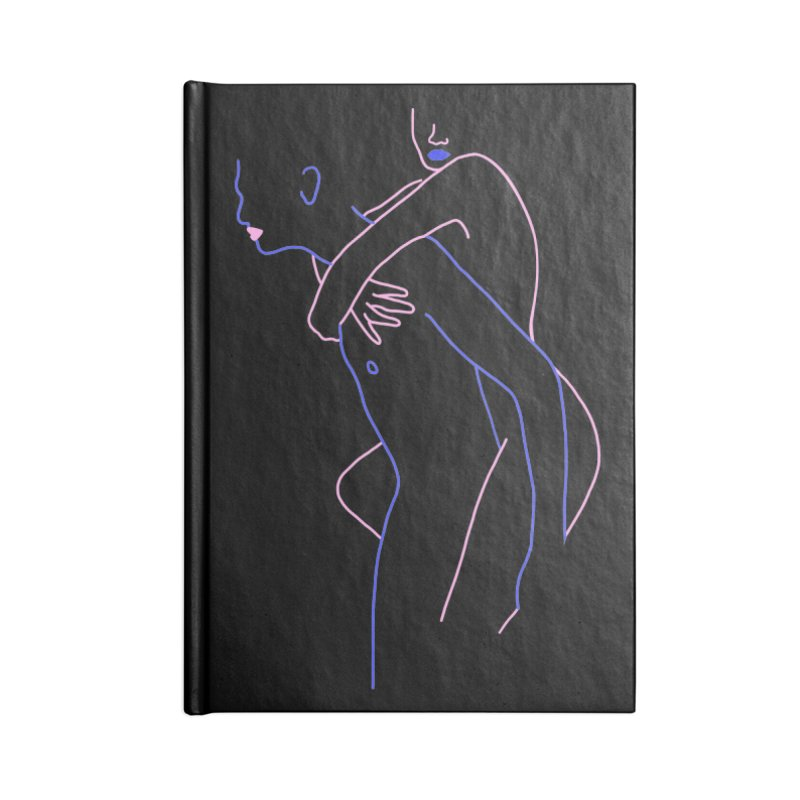 Hold Me Now Accessories Lined Journal Notebook by gelso's Artist Shop