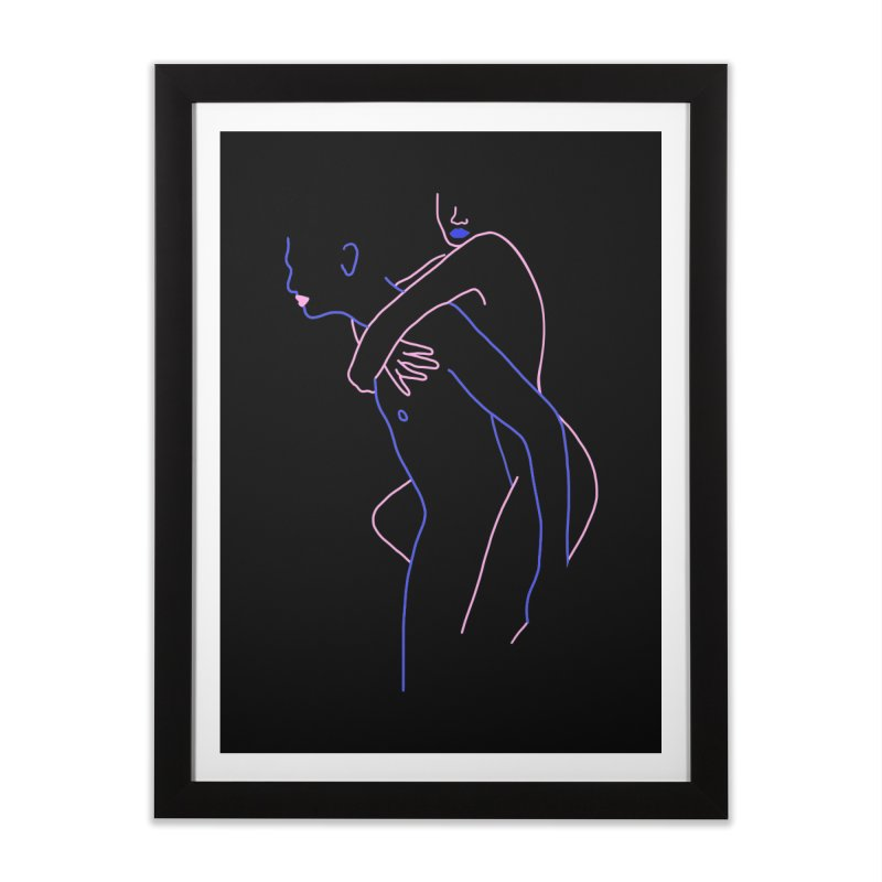 Hold Me Now Home Framed Fine Art Print by gelso's Artist Shop