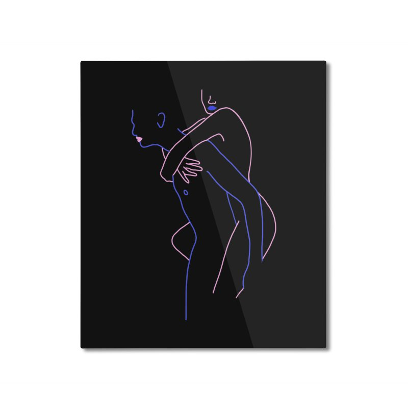 Hold Me Now Home Mounted Aluminum Print by gelso's Artist Shop