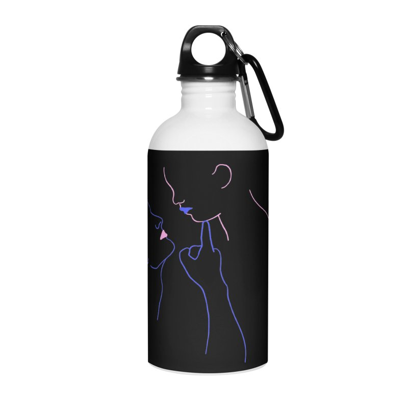 Kiss Me Slowly Accessories Water Bottle by gelso's Artist Shop