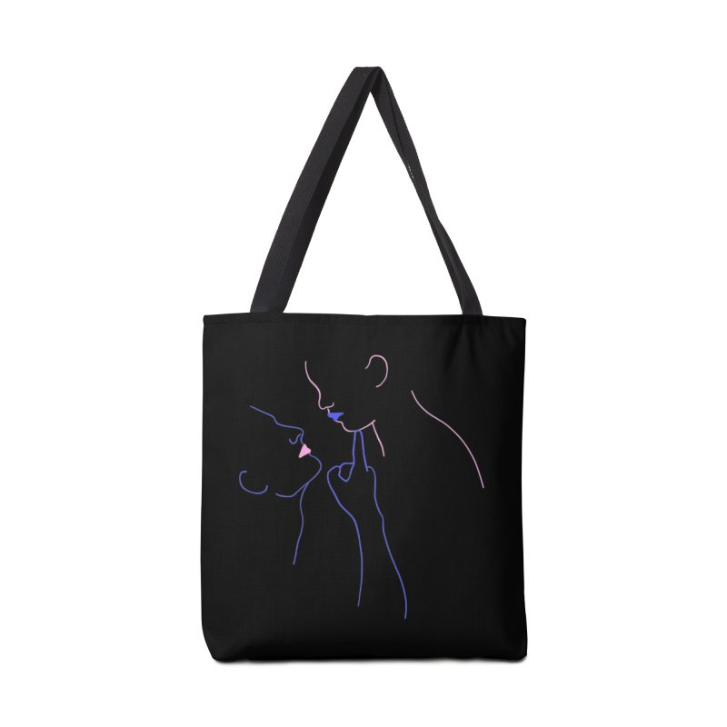 Kiss Me Slowly Accessories Tote Bag Bag by gelso's Artist Shop