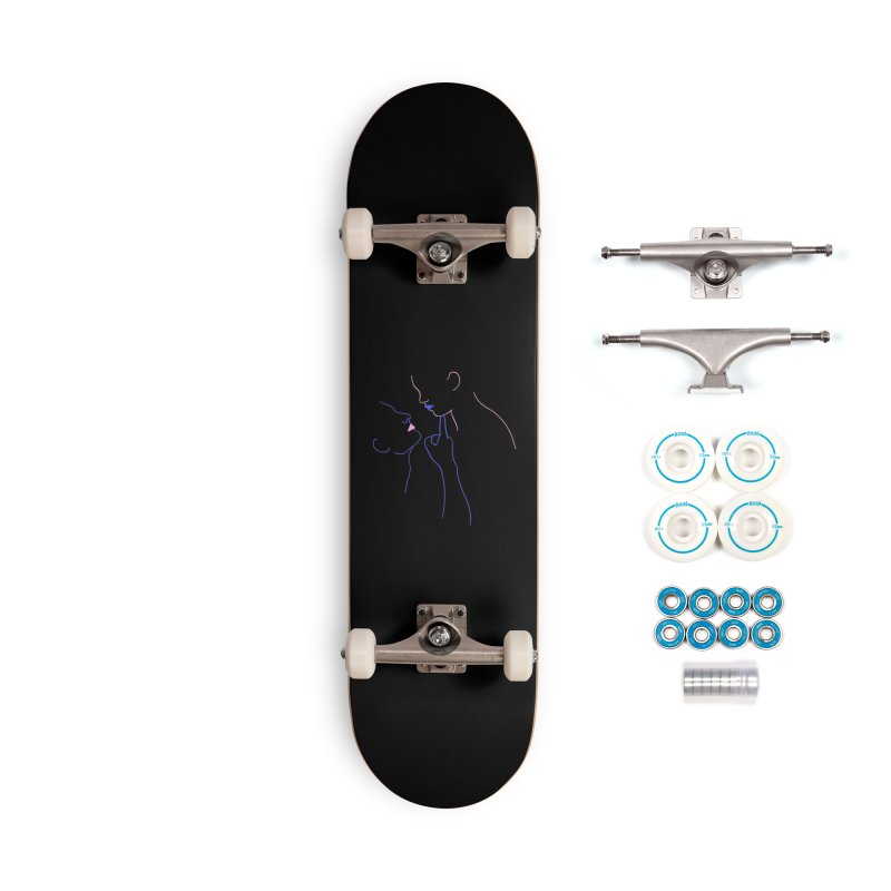 Kiss Me Slowly Accessories Complete - Basic Skateboard by gelso's Artist Shop