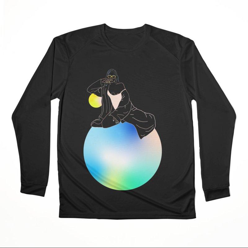 Oasis Girl Men's Performance Longsleeve T-Shirt by gelso's Artist Shop