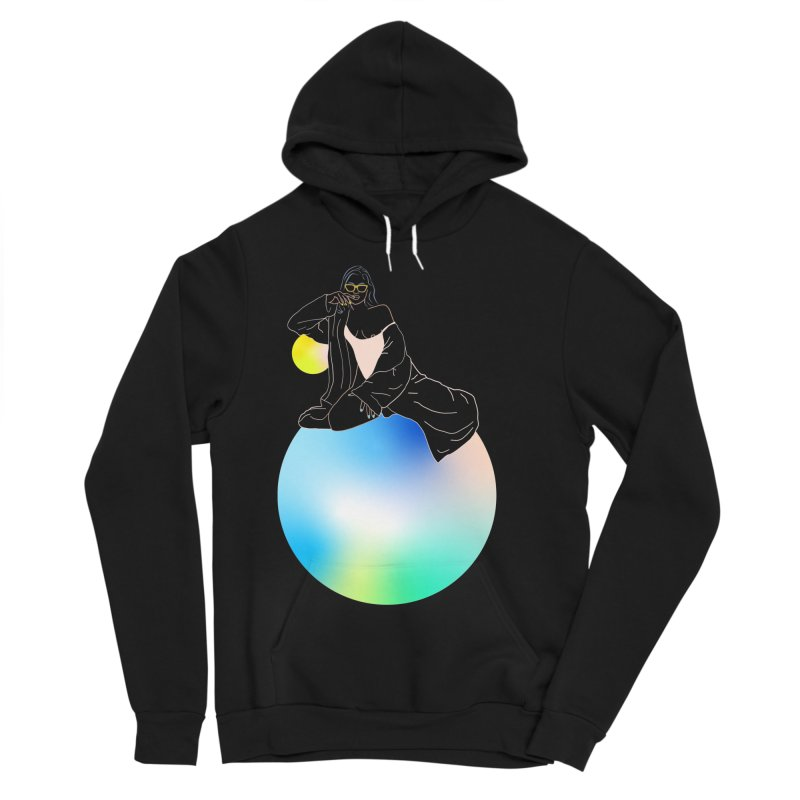 Oasis Girl Women's Pullover Hoody by gelso's Artist Shop