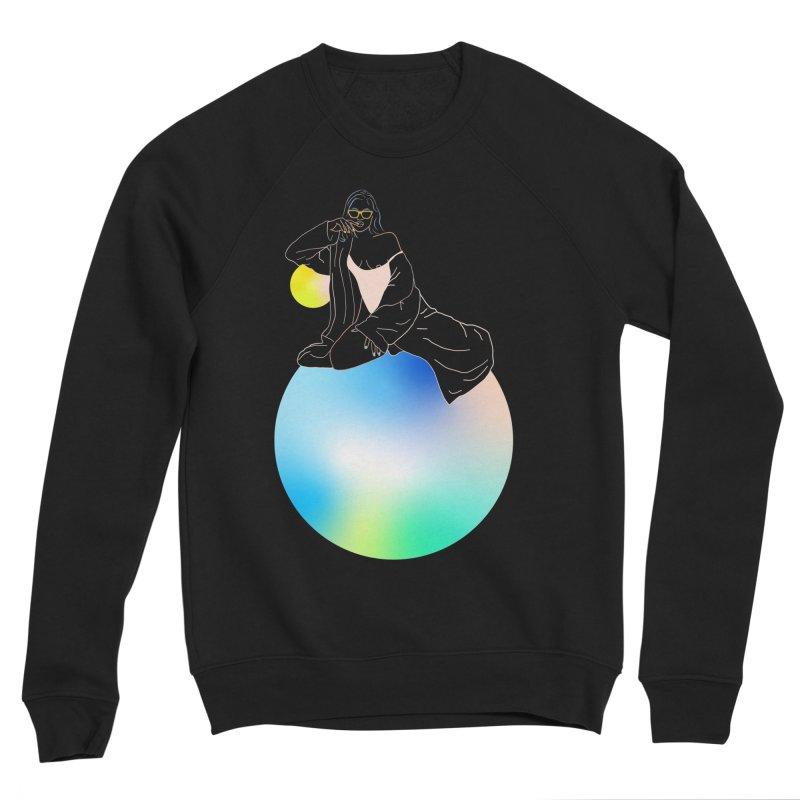 Oasis Girl Men's Sponge Fleece Sweatshirt by gelso's Artist Shop