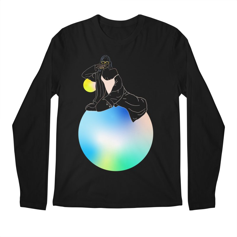 Oasis Girl Men's Regular Longsleeve T-Shirt by gelso's Artist Shop
