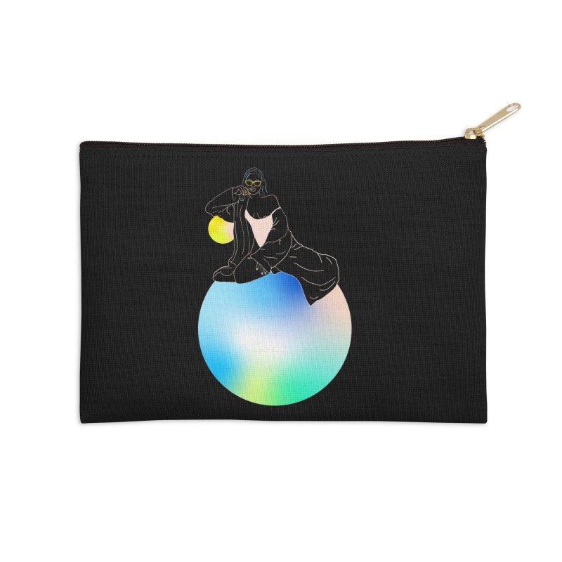 Oasis Girl Accessories Zip Pouch by gelso's Artist Shop