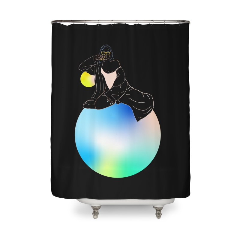 Oasis Girl Home Shower Curtain by gelso's Artist Shop