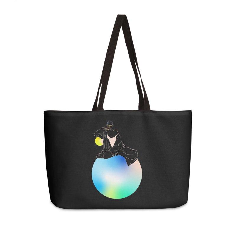 Oasis Girl Accessories Weekender Bag Bag by gelso's Artist Shop