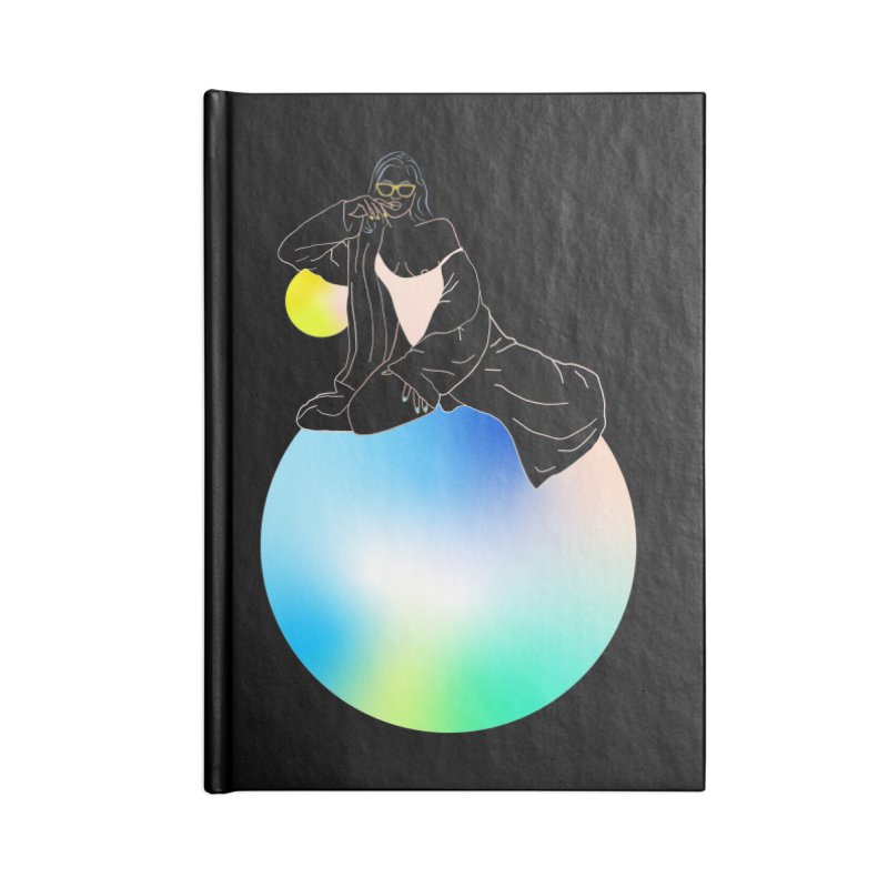Oasis Girl Accessories Blank Journal Notebook by gelso's Artist Shop