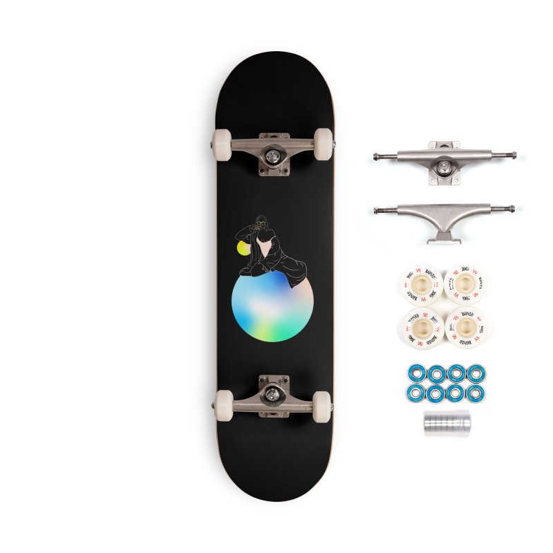 Oasis Girl Accessories Complete - Premium Skateboard by gelso's Artist Shop
