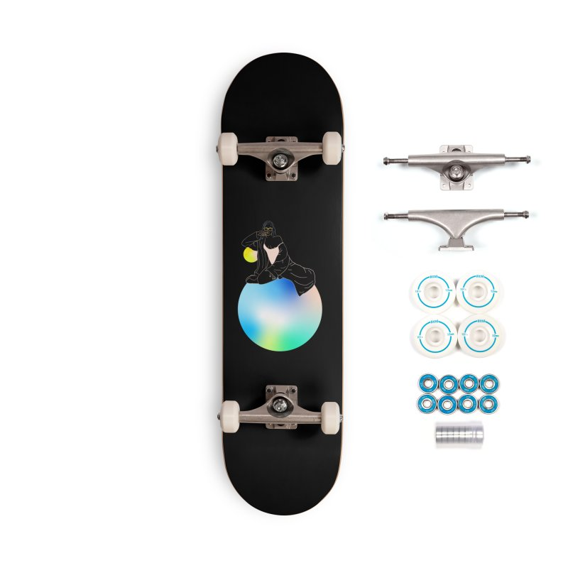 Oasis Girl Accessories Complete - Basic Skateboard by gelso's Artist Shop