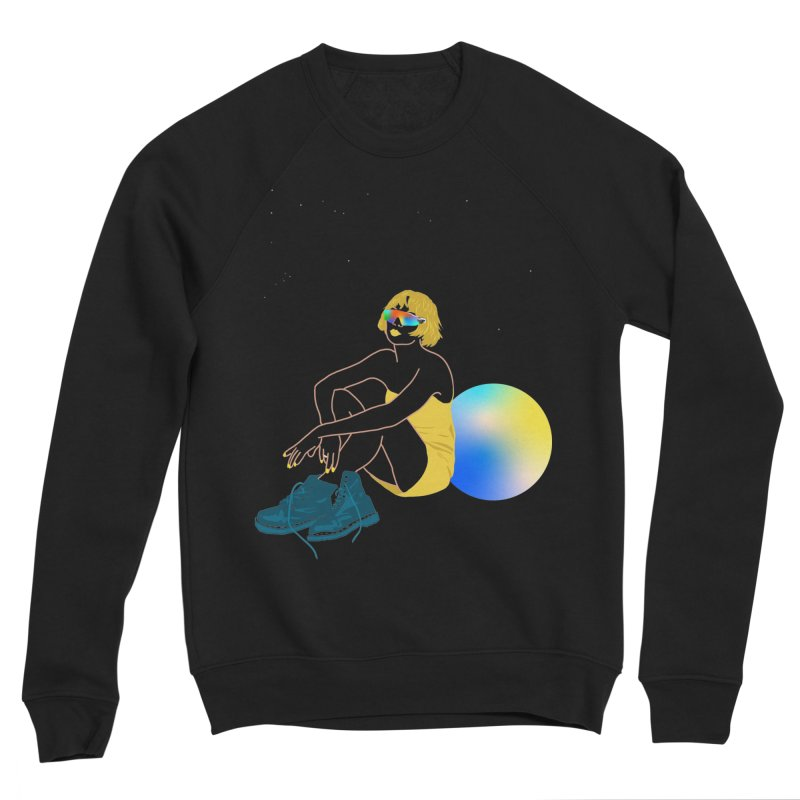 Vision Girl Men's Sponge Fleece Sweatshirt by gelso's Artist Shop
