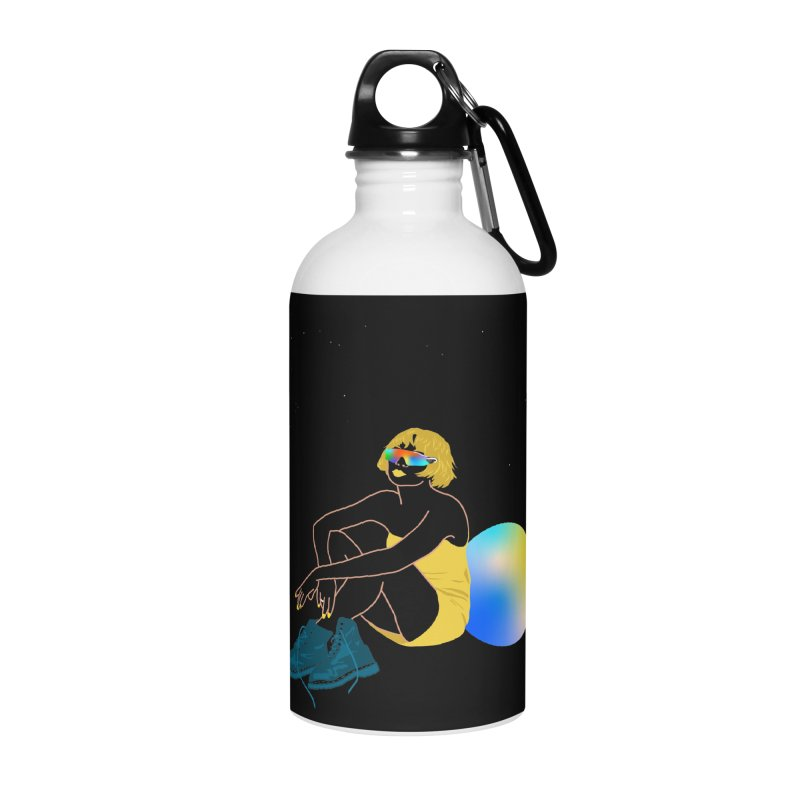 Vision Girl Accessories Water Bottle by gelso's Artist Shop