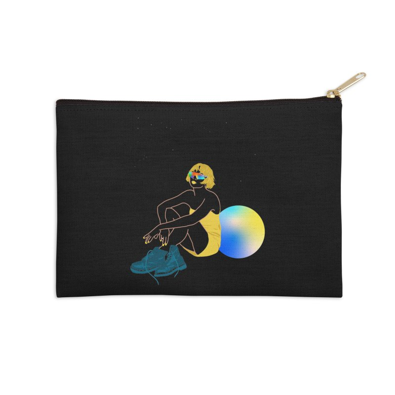 Vision Girl Accessories Zip Pouch by gelso's Artist Shop