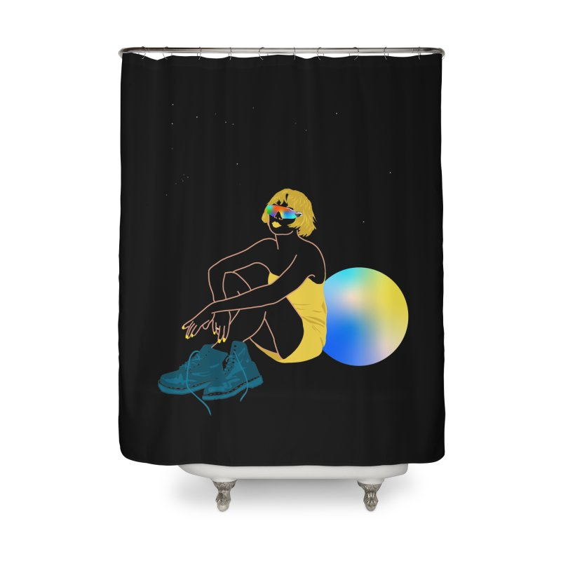 Vision Girl Home Shower Curtain by gelso's Artist Shop