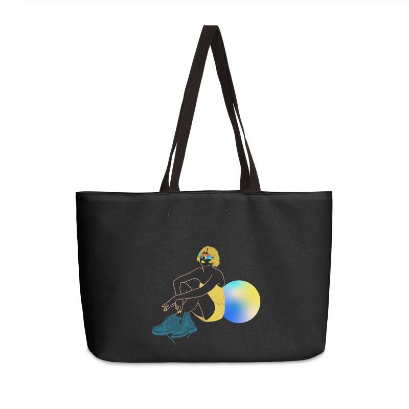 Vision Girl Accessories Weekender Bag Bag by gelso's Artist Shop