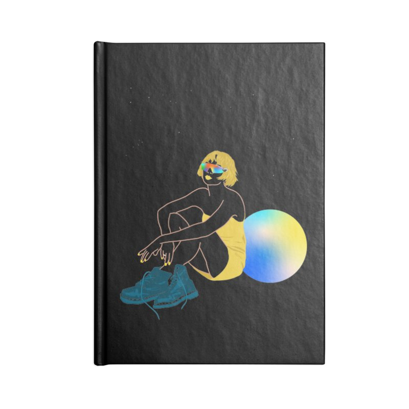 Vision Girl Accessories Lined Journal Notebook by gelso's Artist Shop