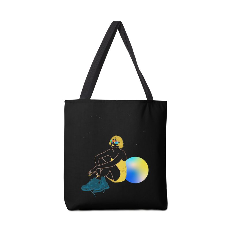Vision Girl Accessories Tote Bag Bag by gelso's Artist Shop