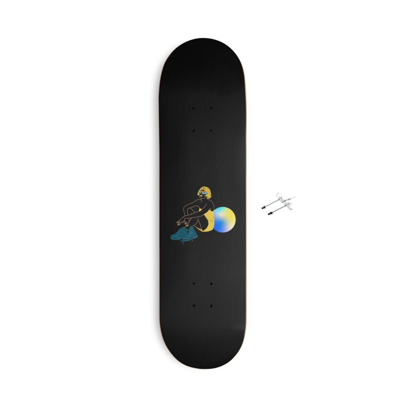 Vision Girl Accessories With Hanging Hardware Skateboard by gelso's Artist Shop