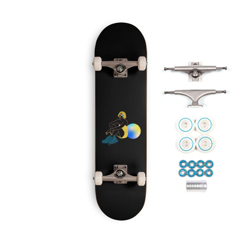 Vision Girl Accessories Complete - Basic Skateboard by gelso's Artist Shop