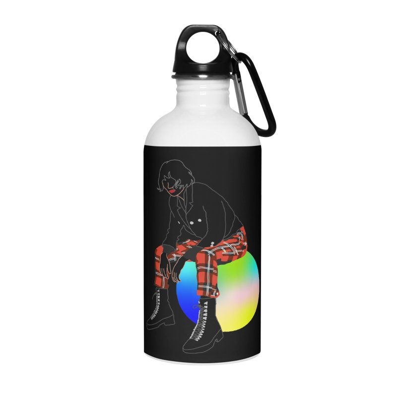 Pattern Girl Accessories Water Bottle by gelso's Artist Shop