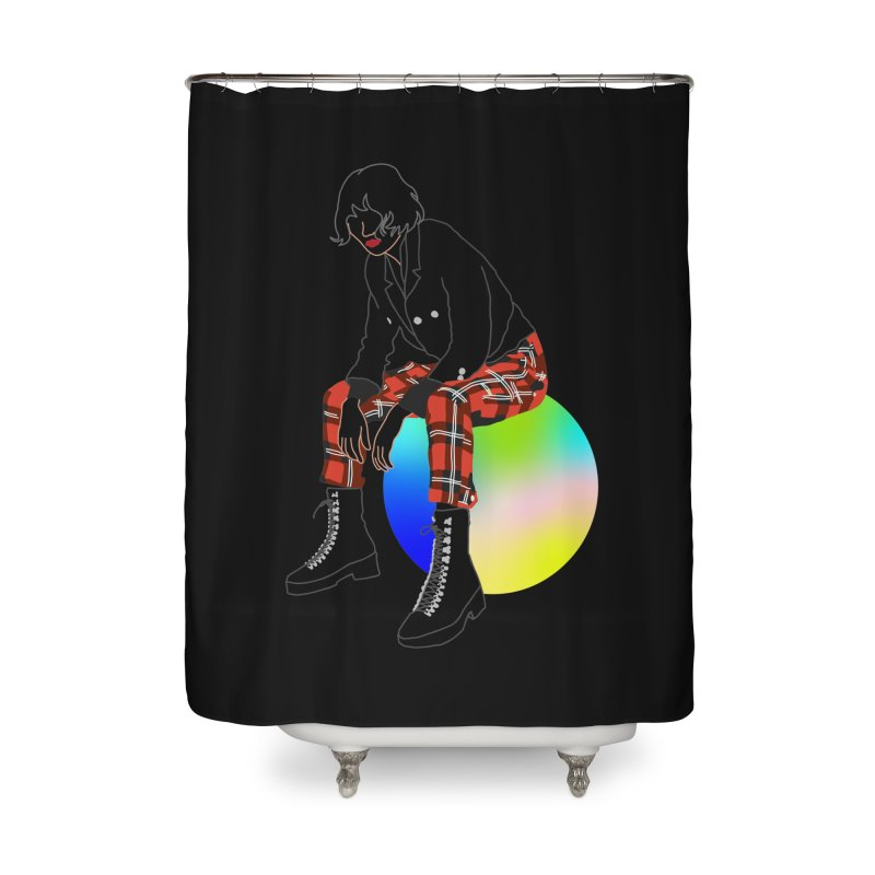 Pattern Girl Home Shower Curtain by gelso's Artist Shop