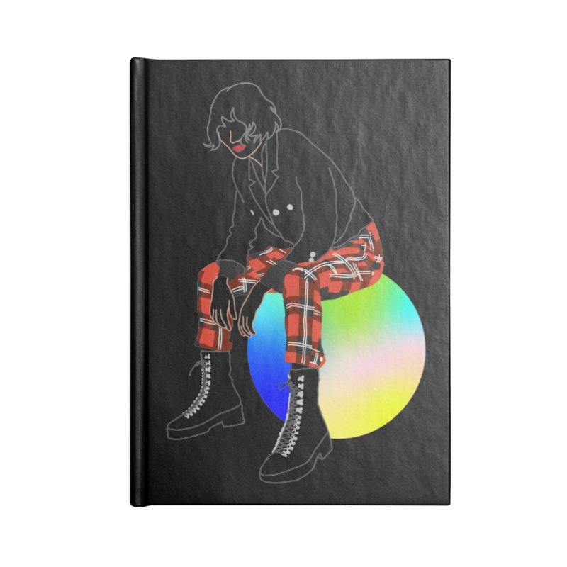 Pattern Girl Accessories Lined Journal Notebook by gelso's Artist Shop