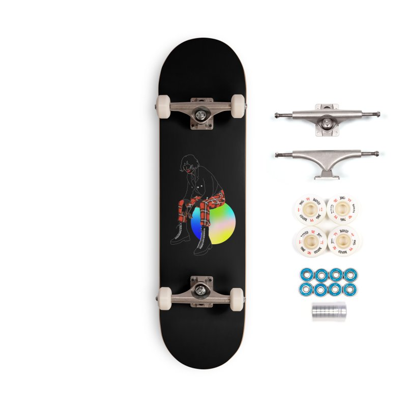 Pattern Girl Accessories Complete - Premium Skateboard by gelso's Artist Shop