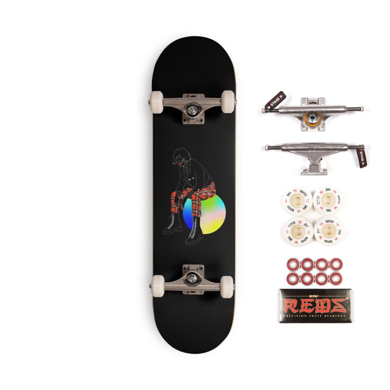 Pattern Girl Accessories Complete - Pro Skateboard by gelso's Artist Shop