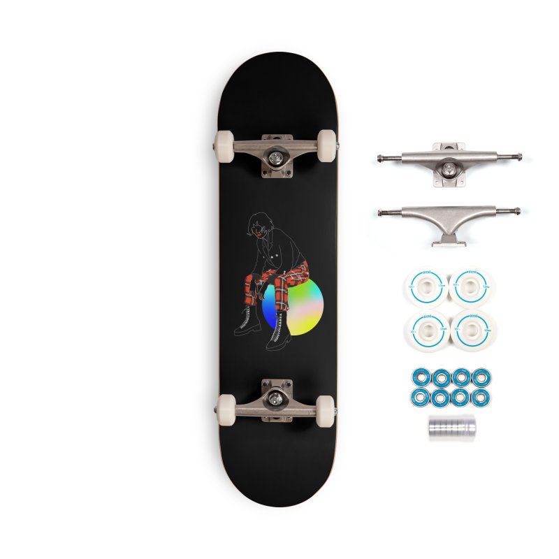 Pattern Girl Accessories Complete - Basic Skateboard by gelso's Artist Shop