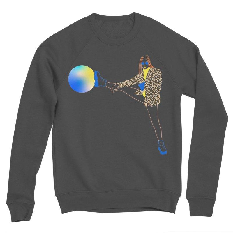 Wild Girl Men's Sponge Fleece Sweatshirt by gelso's Artist Shop