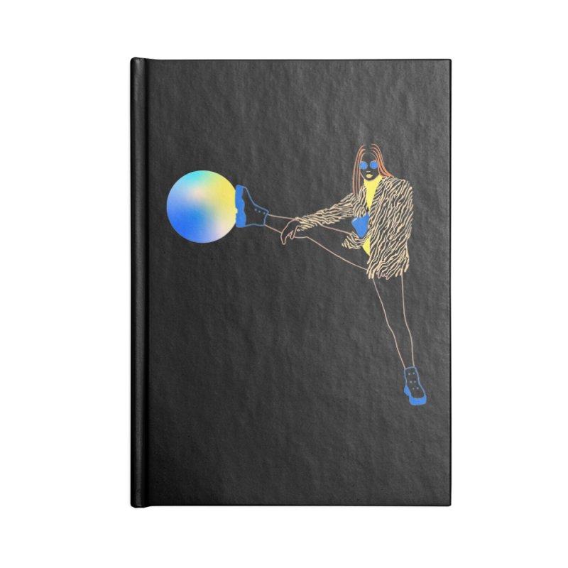 Wild Girl Accessories Blank Journal Notebook by gelso's Artist Shop