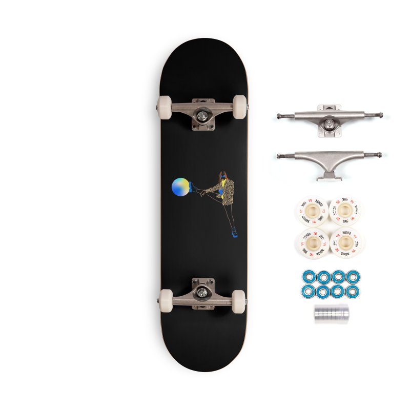 Wild Girl Accessories Complete - Premium Skateboard by gelso's Artist Shop