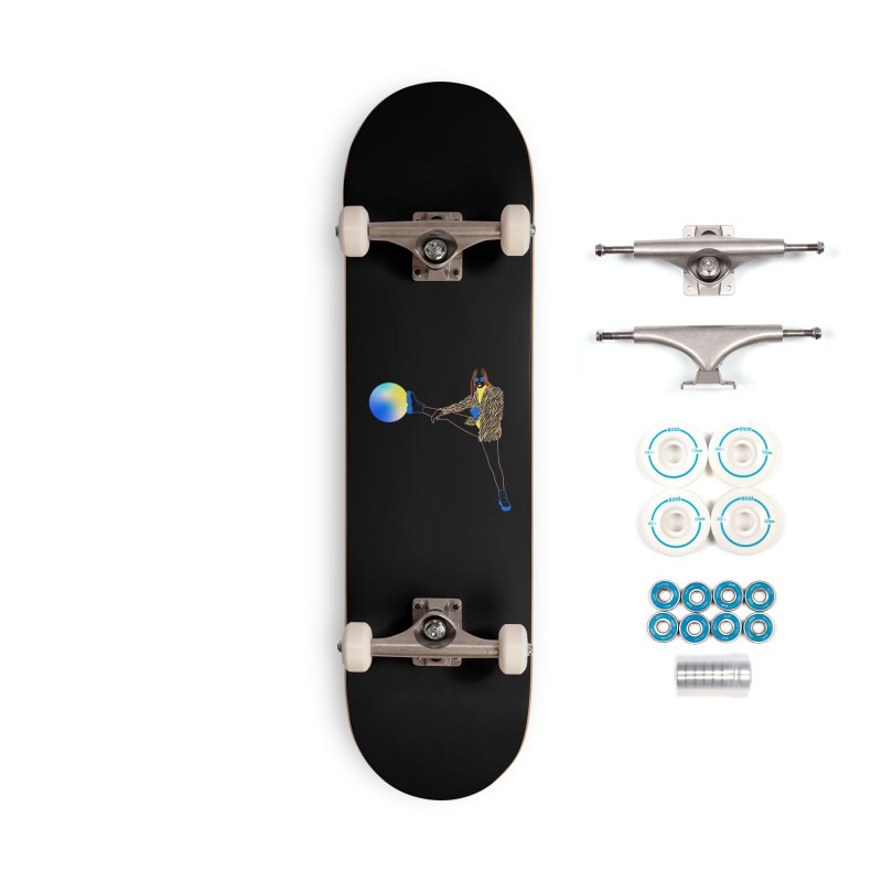 Wild Girl Accessories Complete - Basic Skateboard by gelso's Artist Shop