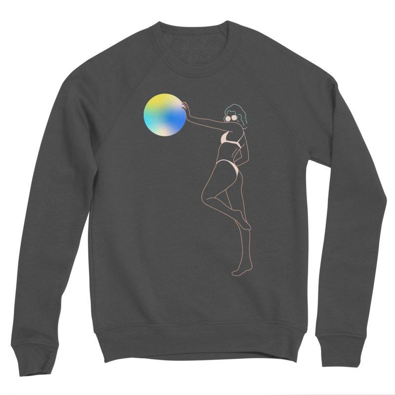 Power Girl Women's Sponge Fleece Sweatshirt by gelso's Artist Shop
