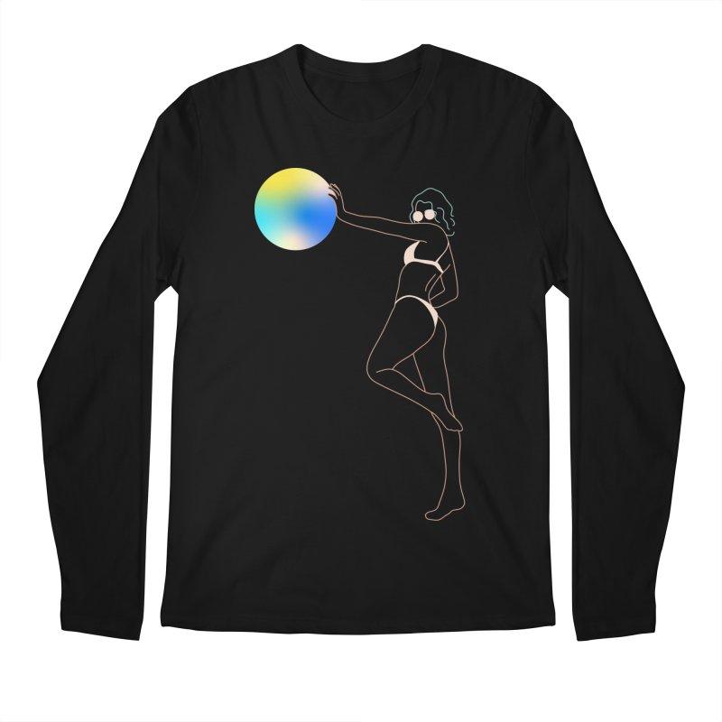 Power Girl Men's Regular Longsleeve T-Shirt by gelso's Artist Shop