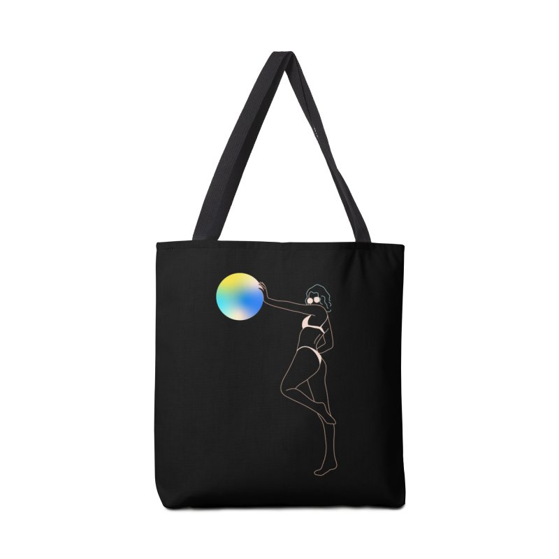 Power Girl Accessories Tote Bag Bag by gelso's Artist Shop